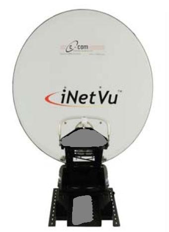Flyaway iNetvu Antenna 1200 Series Systems
