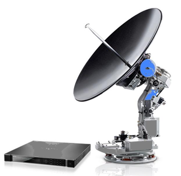 Intellian V100GX Marine Satellite Internet Antenna