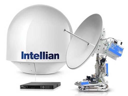 Intellian Antenna v80G Boat VSAT