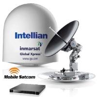 Intellian v100GX Boat VSAT Internet Antenna